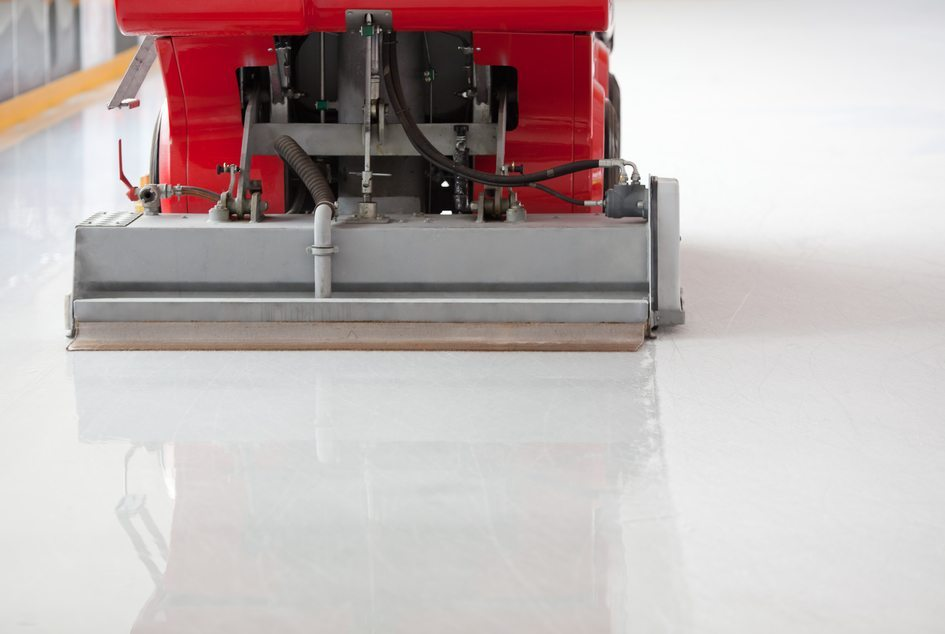 zamboni ice resurface machine