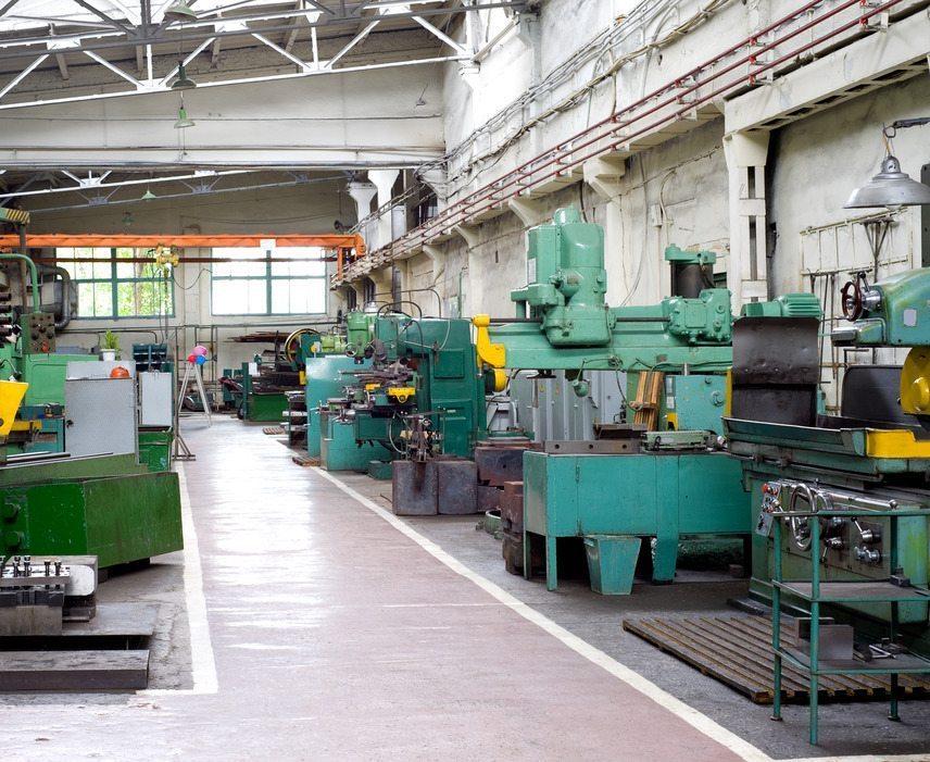metal working shop