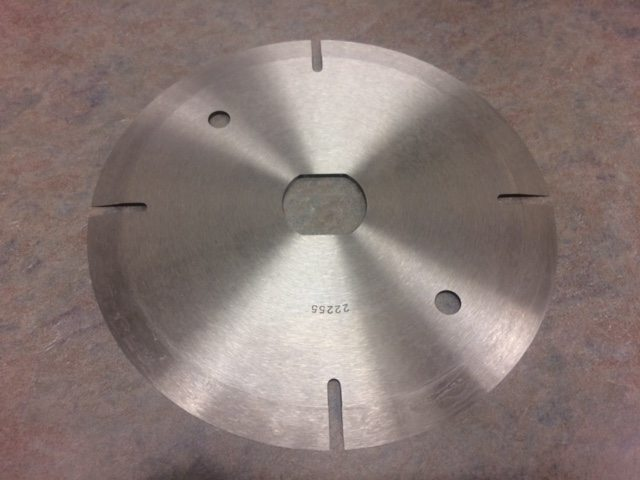 Circular Poultry Processing Blades